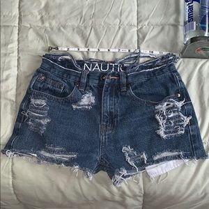 2 for 34❗️ nautica vintage high rise shorts